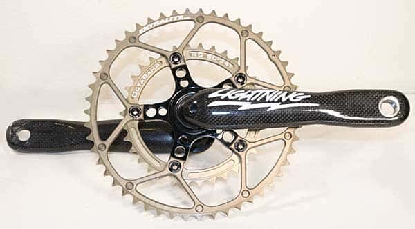 110 BCD Spyder, Extralite chainrings