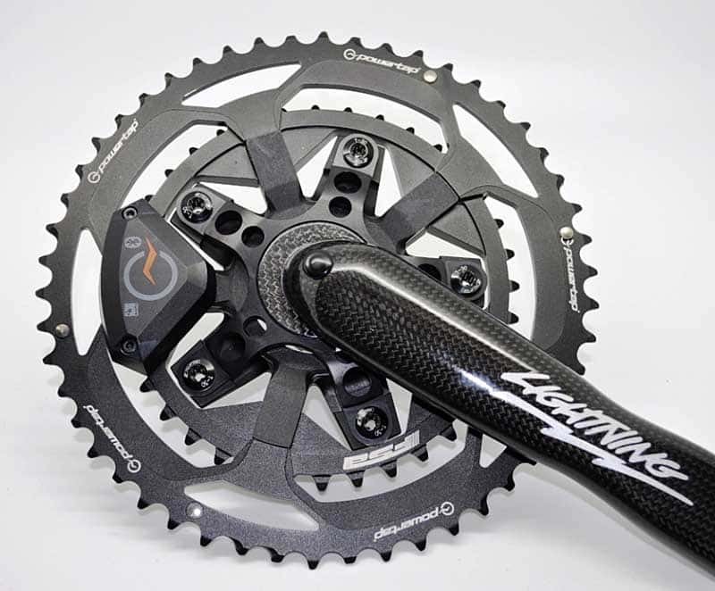 Powertap C1 power measuring chainrings
