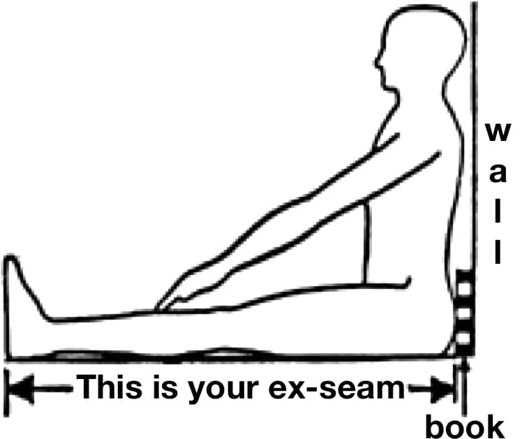 Ex-seam measurement