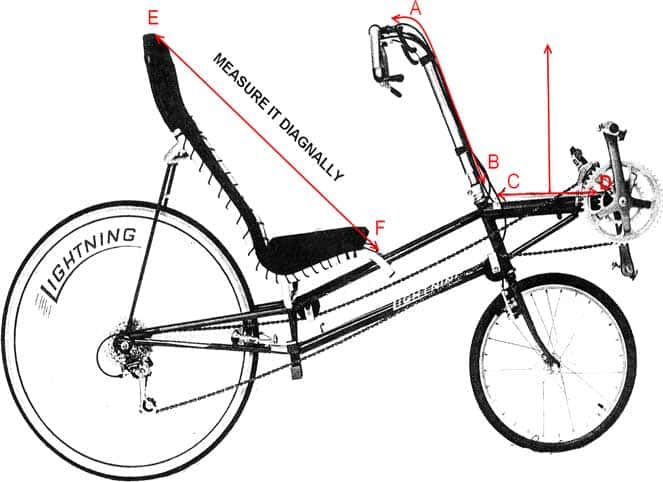 Measuring your Lightning bicycle